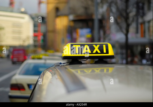 germany taxi stock photos germany taxi stock images alamy. Black Bedroom Furniture Sets. Home Design Ideas