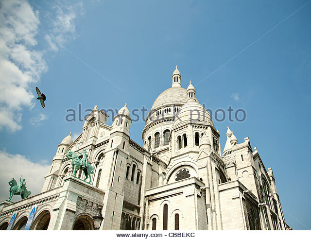 Low angle view of cathedral - Stock Image