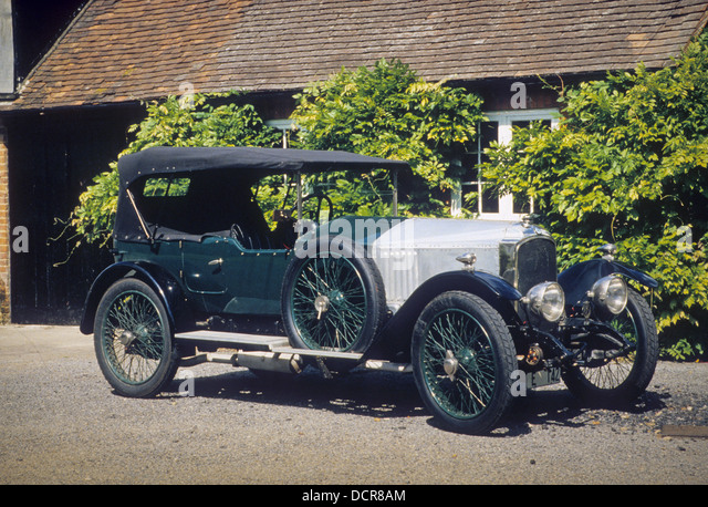 1920 VAUXHALL 30/98. Photo Nicky Wright - Stock Image