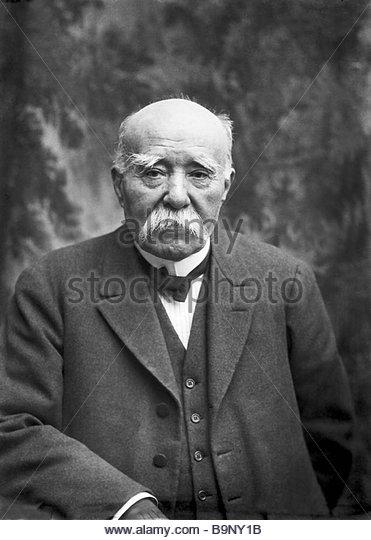Georges Clémenceau - Stock Image