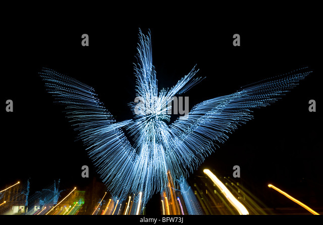 Abstract angel lights - Stock Image