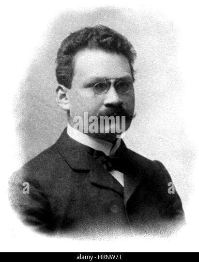 Hermann Minkowski, German Mathematician - Stock Image