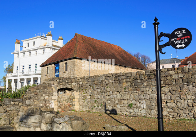 The Wool House, Southampton, Hampshire, England, United Kingdom, Europe - Stock-Bilder