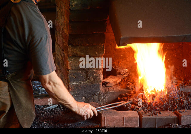 Blacksmith, Traditional occupation, - Stock Image