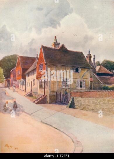 'Blechingley', 1912, (1914). Artist: James S Ogilvy. - Stock Image