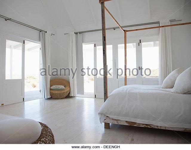 Bedroom - Stock Image
