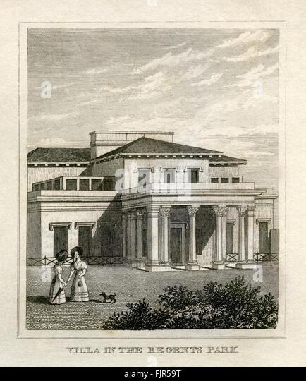 Doric Villa Regents Park