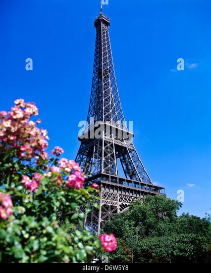 8417. Eiffel Tower, Paris, France, Europe - Stock Image
