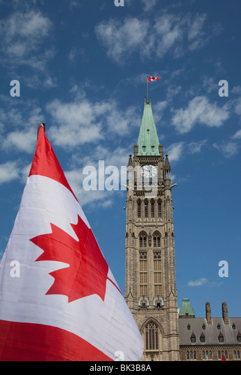 The Parliament, Ottawa, Ontario, Canada, North America - Stock Image