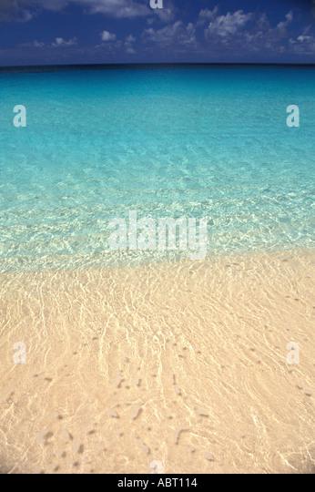 Caribbean shoreline - Stock Image