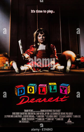DOLLY DEAREST, US poster art, 1991, © Trimark/courtesy Everett Collection - Stock Image