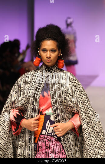 LONDON, UK - September 10: The Co-Identity Collection x Mama Bishara'  is showcased at the AFWL. © David - Stock Image