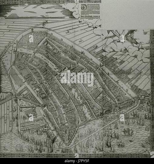 Cornelis Anthonisz. 001 version 01 - Stock Image