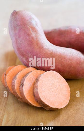 Sweet potato - Stock Image