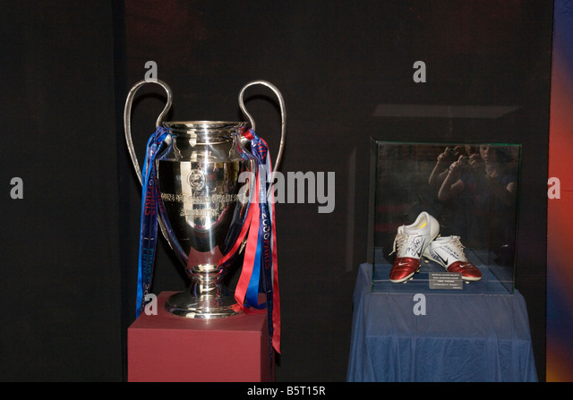 Barca Fc Trophy Cabinet