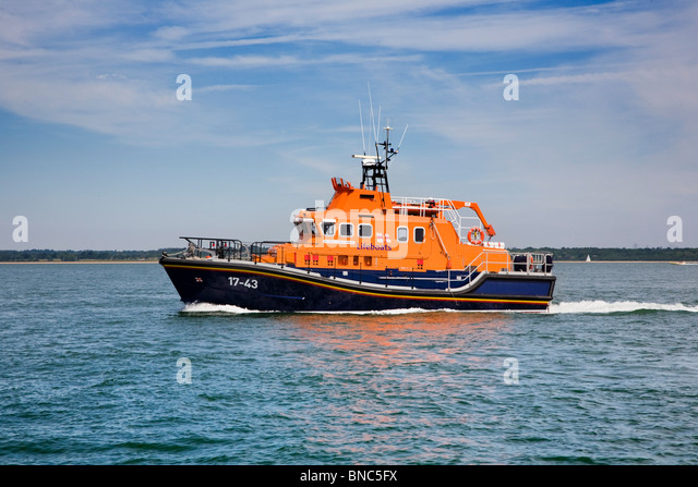 RNLI Severn Class Lifeboat '17-43' RNLB DONALD & BARBARA BROADHEAD - Stock Image