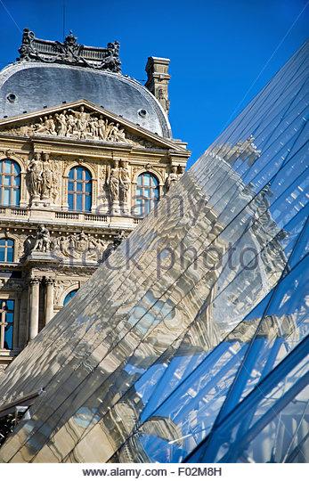 Louvre, Paris - Stock Image