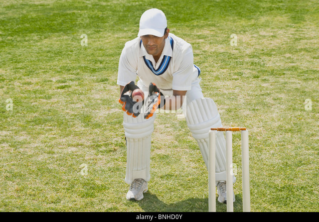 how to play a ball on leg stump