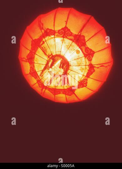 Orange light - Stock Image