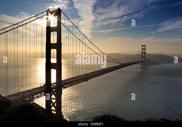 Golden Gate Bridge, San Francisco, Kalifornien, USA - Stock Image