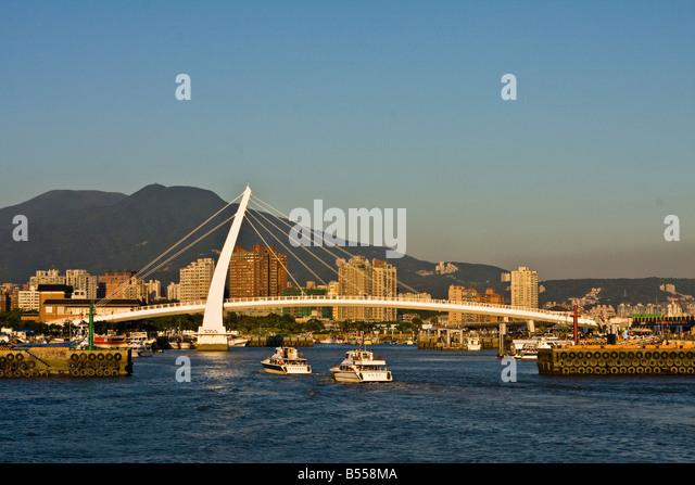 Fisherman Wharf, Taipei, Taiwan - Stock Image