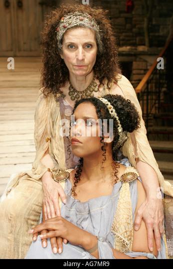 Alabama Montgomery Alabama Shakespeare Festival The Trojan Women actress Black female - Stock Image