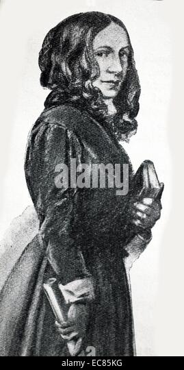 Early 19th Century Governess, English - Stock Image