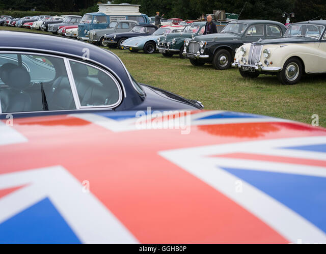 Classic Car Parking At Goodwood Revival