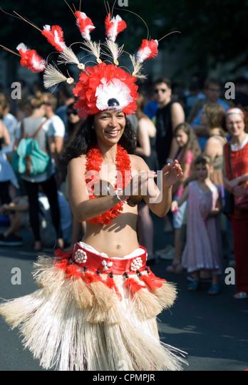 Karneval der Kulturen Berlin 2012 - Stock-Bilder