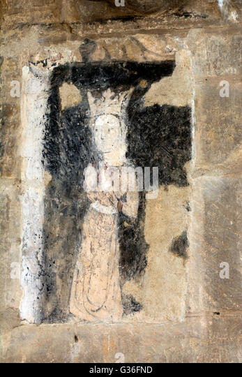 Medieval Church Wall Paintings Oxfordshire