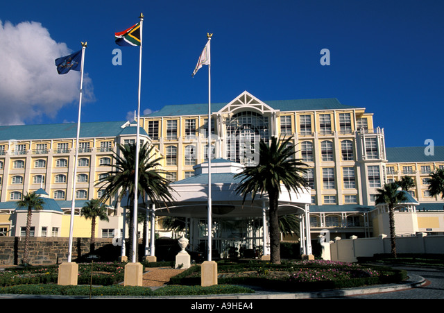 South Africa Cape Town Table Bay Hotel - Stock Image