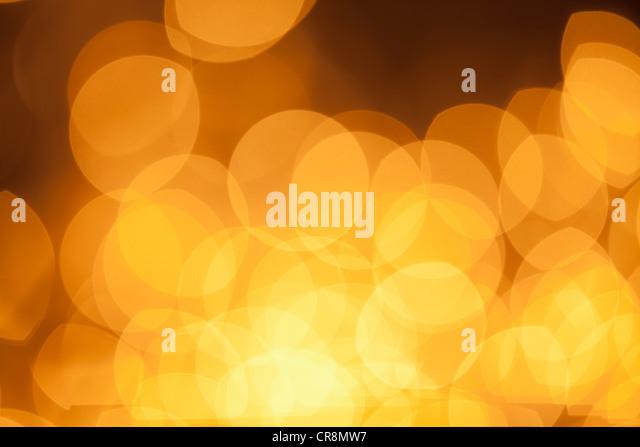 Abstract orange lights - Stock-Bilder