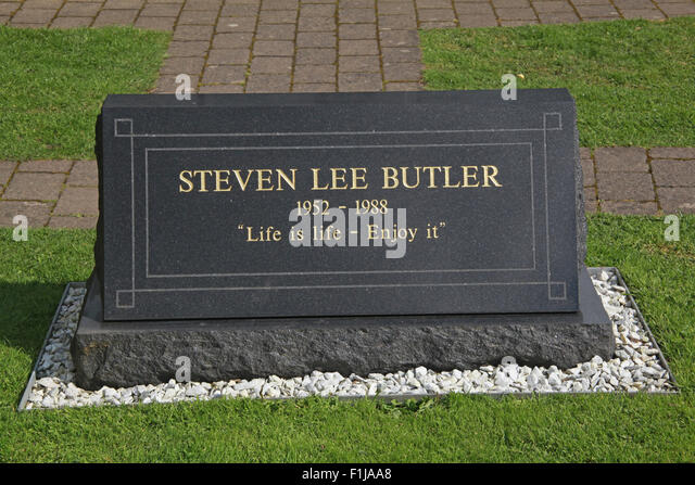 Lockerbie PanAm103 Memorial Steven Lee Butler, Scotland - Stock Image