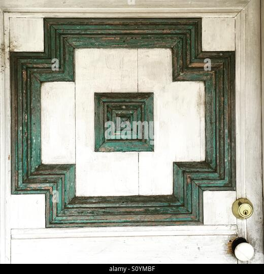 Door in New Mexico - Stock Image
