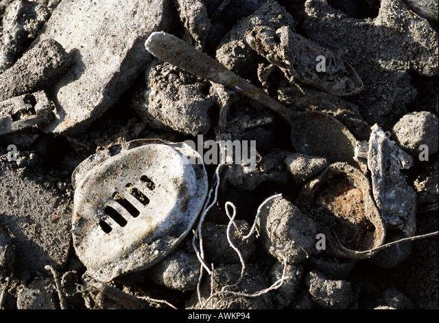 Coal Slag Rock : Slag pile stock photos images alamy