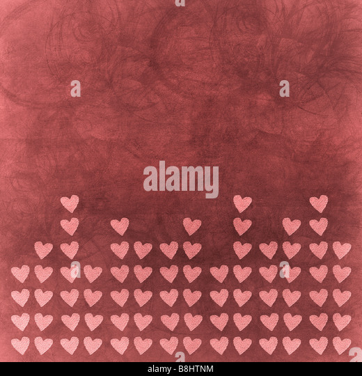 valentine s day background - Stock Image