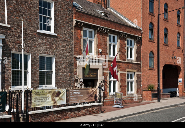 Regimental museum of the Royal Dragoon Guards and Prince of Wales's Own Regiment of Yorkshire. - Stock Image