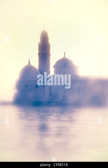Church of San Michele in Venice in the backlight - Stock-Bilder