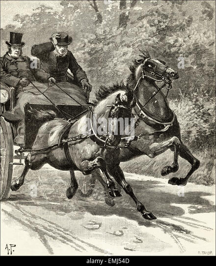Horse Carriage 1800s Stock Photos Amp Horse Carriage 1800s