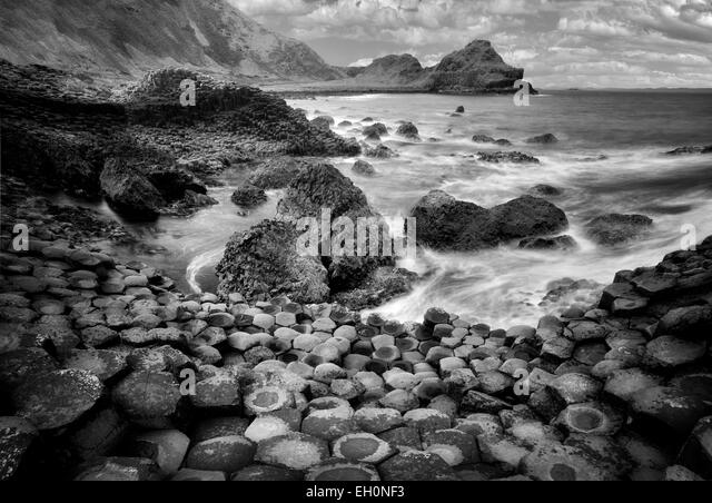 Giants Causeway. Ireland - Stock-Bilder