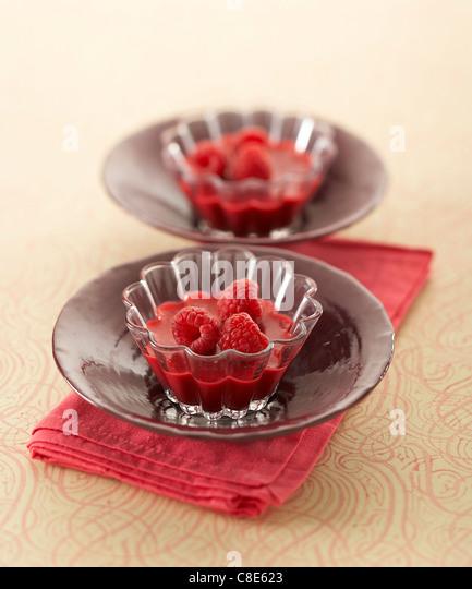 Raspberry Bavarian - Stock-Bilder