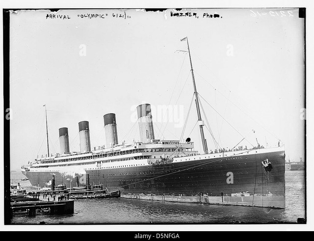 Arrival OLYMPIC, 6/21/11 (LOC) - Stock Image