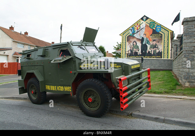 Cars Northern Ireland Used Cars Ni Second Hand Cars For: Armoured Vehicle Northern Ireland Stock Photos & Armoured