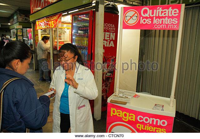 Mexico Mexico City DF D.F. Ciudad de México Federal District Distrito Federal Mexico City Metro Metro de la - Stock Image