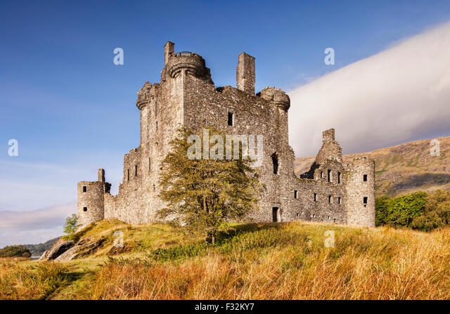 Kilchurn Castle, Loch Awe, Argyll and Bute, Scotland, UK. - Stock-Bilder