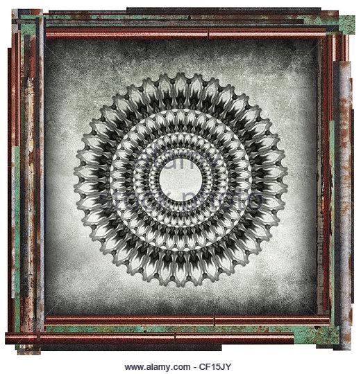 abstract art image - Stock Image