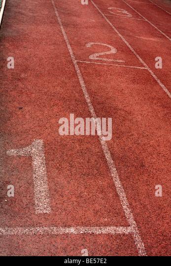 Athletics, track, field - Stock Image