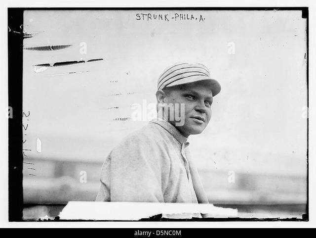 [Amos Strunk, Philadelphia, AL (baseball)] (LOC) - Stock Image