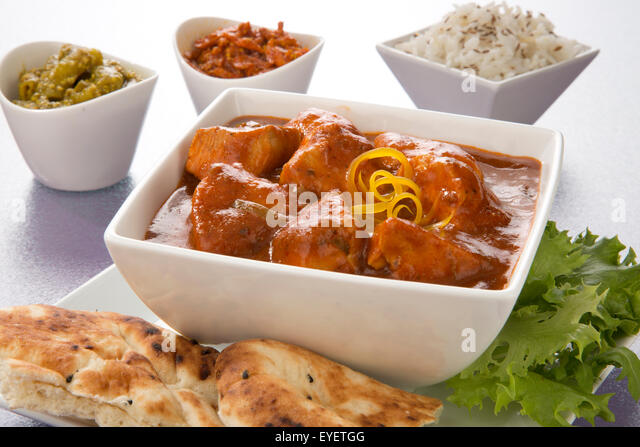 INDIAN CHICKEN TIKKA MASALA CURRY - Stock Image