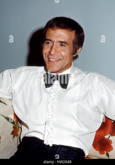RICARDO MONTALBÁN (1920-2009) Mexican film actor about 1950 - Stock-Bilder